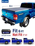 Tyger Auto TG-BC3F1022 TRI-FOLD Truck Bed Tonneau Cover 1982-2013 Ford Ranger; 1994-2011 Mazda B-Series Pickup | Styleside 6' Bed