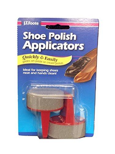 J.T. Foote Shoe Polish Applicators Foam Sponges Daubers