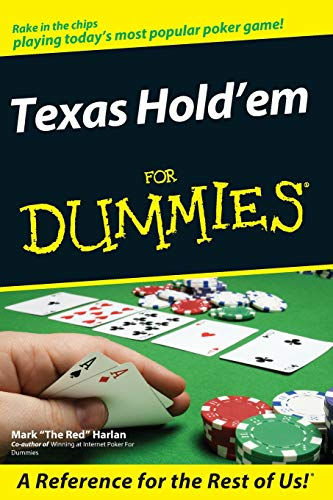 Texas Hold'em For Dummies (Money In The Middle Of Poker Table)