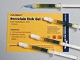 Pulpdent PEG3 Porcelain Etch Syringe Gel, 3 mL