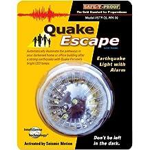 Quake Escape Earthquake Activated 48 Hour Light With Alarm