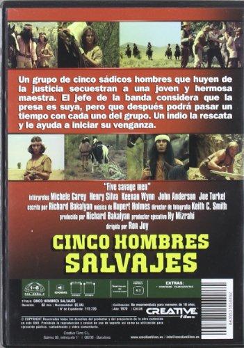 Cinco Hombres Salvajes [DVD]: Amazon.es: Henry Silva, Keenan ...