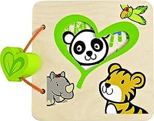Hape Ecoline 702839 - Mi primer libro, libro de madera [importado de Alemania]