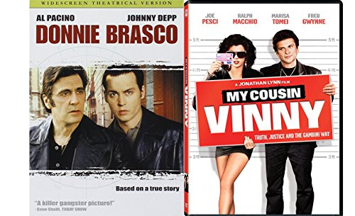 Italian Mafia 2-Movie Bundle - Donnie Brasco & My Cousin Vinnie