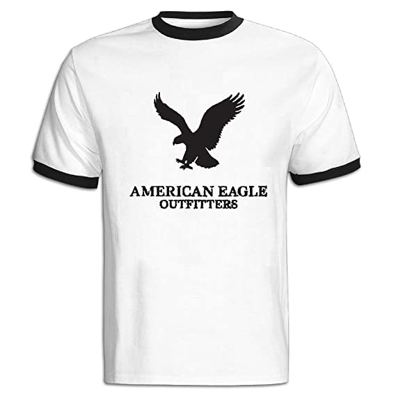 2d8f1888 ASKKEEEN Mens American Eagle Outfitters Short Sleeve Contrast Color  T-Shirt: Amazon.ca: Clothing & Accessories