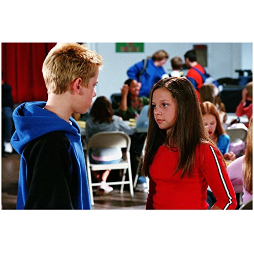 7th Utopia Mackenzie Rothman as Ruthie with Scotty Leavenworth as Peter in cafeteria 8 x 10 Inch Photo