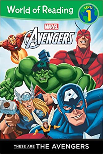 amazon these are the avengers level 1 reader world of reading