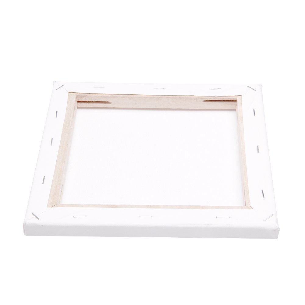 cici store White Blank Square Artist Canvas Wooden Board Frame Painting Panel