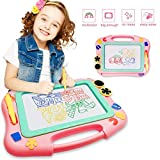 FONLLAM Updated Magnetic Drawing Board, Kids Magna Doodle Board Toys for Toddlers Girls, Boys, Erasable Sketch Pad for Writing Painting