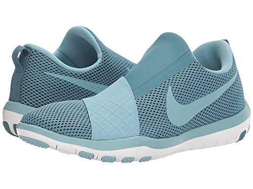 white Free Fitness Blue Connect Nike De mica smokey Wmns Bleu Blue Femme Chaussures HxnqS6nv
