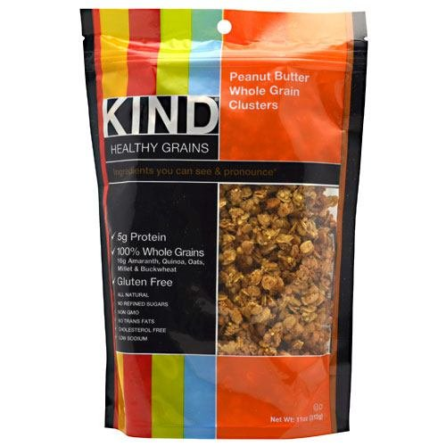 Kind Clusters Peanut Butter Whole Grain Cluster 11oz. (Pack of 6) ( Value Bulk Multi-pack)