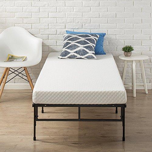 "Zinus Memory Foam 4 Inch Mattress, Narrow Twin/Cot Size/RV Bunk/Guest Bed Replacement/30 x 75\"""