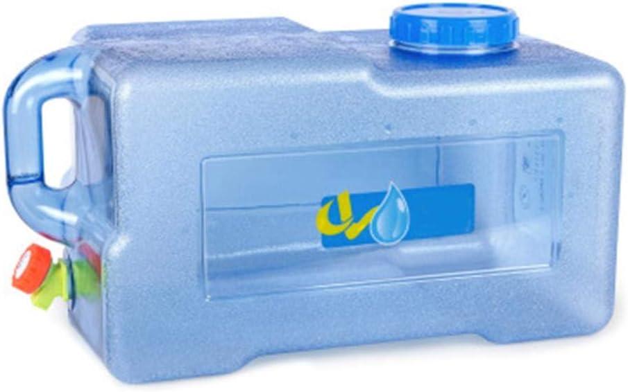 25L Bidón Plástico con Grifo, Contenedor De Agua Portátil, Tanque De Almacenamiento Agua, Seguro, No Tóxico Y De Gran Capacidad, Adecuado para El Uso De Coches De Viaje De Campo