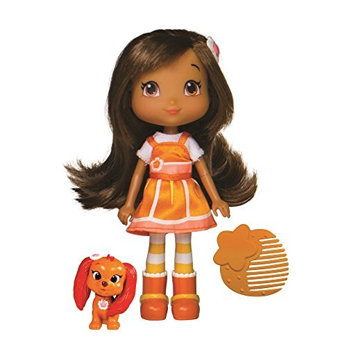 The Bridge Direct 12230 Strawberry Shortcake Orange Blossom with Marmalade Fashion Doll with Pet, 6 by The Bridge Direct - Orange Blossom Strawberry Shortcake