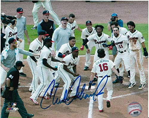 - Charlie Culberson Autographed Picture - 8x10 - Autographed MLB Photos