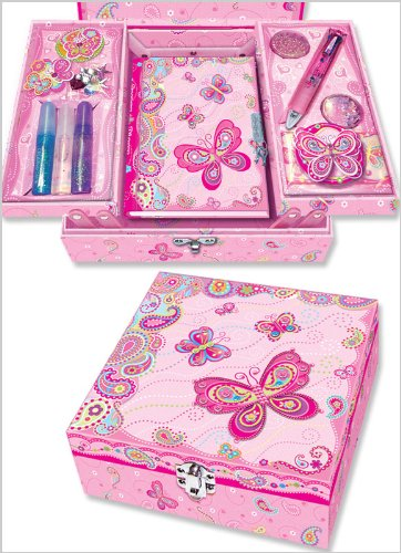 Pecoware Fancy Butterfly Create Your Own Secret Diary Set Getting Fit 39301511755