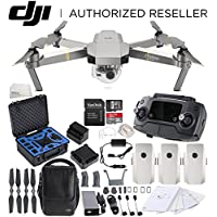 DJI Mavic Pro Platinum FLY MORE COMBO Collapsible Quadcopter Premium Starters Bundle