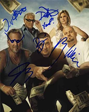 Storage Wars Cast by 5 Signed 8x10 Photo Certified Authentic JSA COA