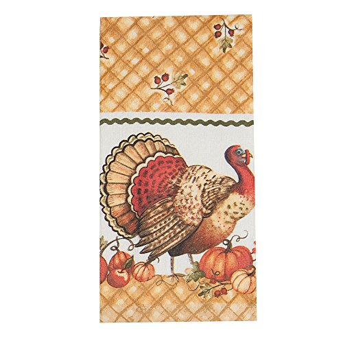 Kay Dee Designs H2540 Harvest Blessings Turkey Cotton Terry (Harvest Design)
