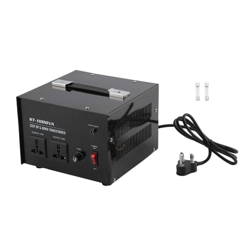 Ac 1000 Step Up Down Voltage Converter Transformer 110 110v 220v Circuit Breaker Protection 1000w Home Audio Theater