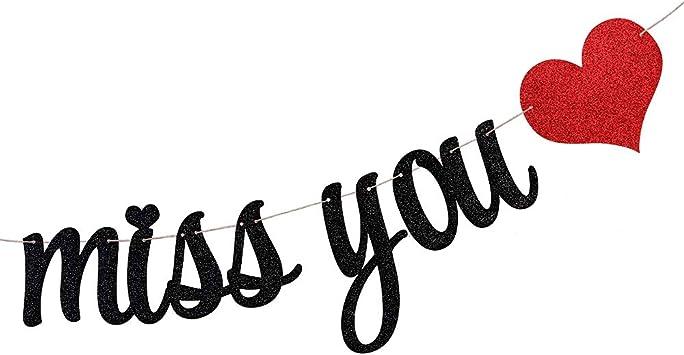 Palasasa Wimpelkette Mit Aufschrift We Will Miss You Für Ruhestandsparty Dekoration Abschluss Party Büro Arbeit Party Abschied Schwarz Alle Produkte