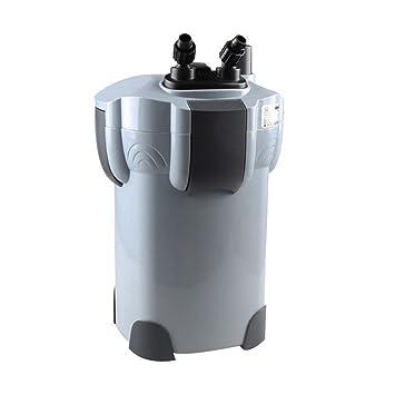 SPEED Acuario Peces Tanque Filtro Externo m. 9W UV Lámpara De 1000L/H 3 Etapas Clearwater Filtro 213414: Amazon.es: Jardín