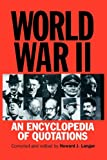 World War II, Howard J. Langer, 0313300186