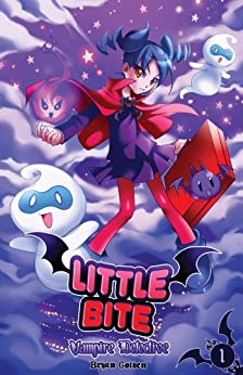 Little Bite Vampire Detective NEW EDITION! (Manga Comic Book) Kids Comics (Graphic Novel) #1 by [Golden, Bryan]