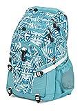 wwww High Sierra Loop Backpack- Teal Shibori/Tropic Teal/White
