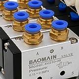Baomain Solenoid Valve 4V210-08 AC 110V PT1/4 2