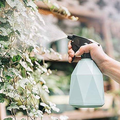 Heflashor 600ml Plastic Spray Bottle Garden Plant Misters Adjustable Nozzle Watering Sprayers for Garden Plants Cleaning Solution