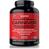 MuscleMeds Carnivor Beef Protein Isolate Powder, Chocolate, 56 Servings