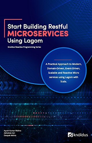 - Start Building RESTful Microservices using Lagom: A Practical Approach to Modern, Domain-Driven, Event-Driven, Scalable and Reactive Microservices using ... Scala (Knoldus Reactive Programming Series)