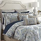 Croscill Emery King Comforter, Multi