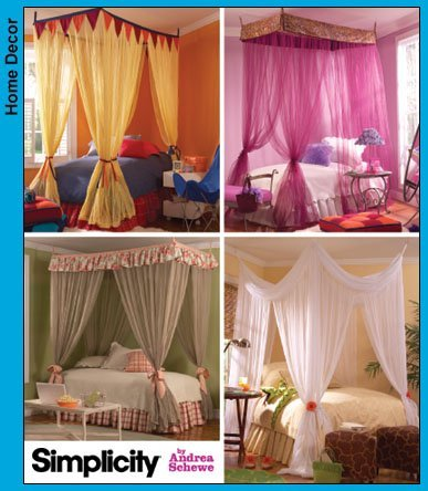 Simplicity Decorating Canopies Sewing Pattern
