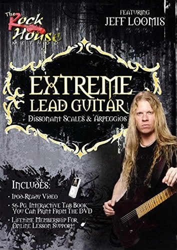Extreme Lead Guitar, Dissonant Scales & Arpeggios 2 Volume Set [Instant Access] Rock Lead Scales