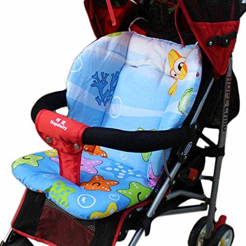 GigaMax(TM) Baby Car Seat Pad Child Cart Seat Cushion Cotton Baby Stroller Cushion Mat General Cotton Mat 0-36 Months]()