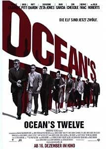 Ocean's Twelve - Movie Poster - 11 x 17