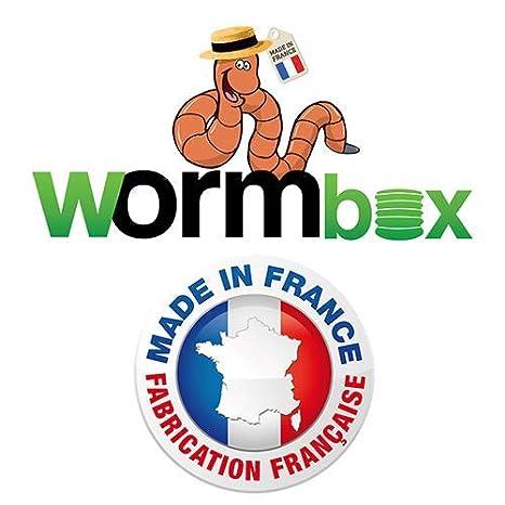 WormBox : Vermicompostador 3 bandejas Gris - 48 litros