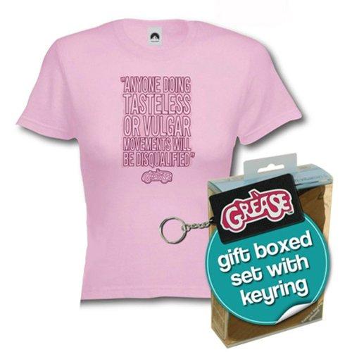Girl Shirt inclusive Llavero Grease Motivo: Vulgar: Amazon ...