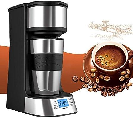 Pyrus Coffee Maker, Single Cup Coffee Coffee Maker Personal One Cup con Coffee Cup Viajes Coffee Dripper Coffee Brew con café molido o Coffee Pods (Single Cup): Amazon.es: Hogar