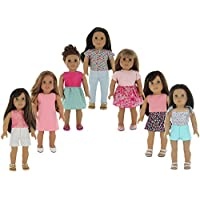 PZAS Toys American Girl Doll Clothes Wardrobe