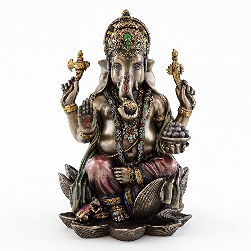 Top Collection 7 1/4-inch Ganesha Statue Hindu Elephant for sale  Delivered anywhere in USA