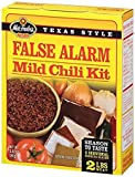 3 alarm chili mix - Wick Fowler's Texas Style False Alarm Mild Chili Kit 3 oz (Pack of 3)