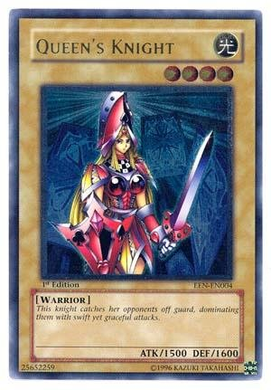 Yu-Gi-Oh! - Queen's Knight  - Elemental Energy - Unlimited