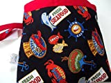 Wet Bag, Waterproof Zipper Beach Swimsuit Bag, PUL Cloth Diaper, Baby Shower Gift, Travel Bag