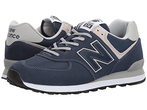 [new balance(ニューバランス)] メンズランニングシューズ?スニーカー?靴 ML574v2 Black Iris/Black Iris 7.5 (25.5cm) 4E - Extra Wide