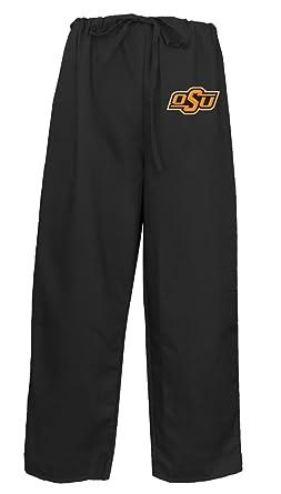3eb08e4a5 Oklahoma State Scrub Pants Scrubs Drawstring Bottoms for Men or Ladies! XS  Black