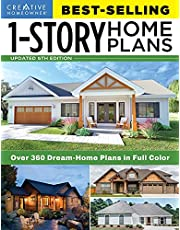 Best-Selling 1-Story Home Plans, 5th Edition: Over 360 Dream-Home Plans in Full Color (Creative Homeowner) Craftsman, Country, Contemporary, and Traditional Designs with More Than 250 Color Photos