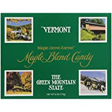 Maple Grove Farms, Blended Maple Candy, Vermont State, 6 Ounce
